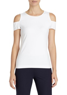 Lafayette 148 New York Cold Shoulder Top