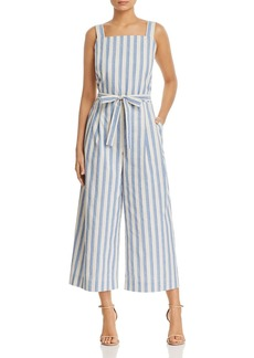 Lafayette 148 New York Colette Striped Wide-Leg Jumpsuit