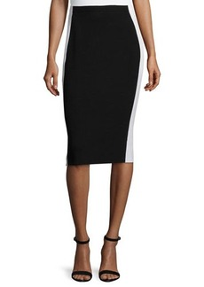 Lafayette 148 New York Colorblock Pencil Skirt