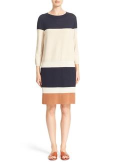 Lafayette 148 New York Colorblock Sweater Dress