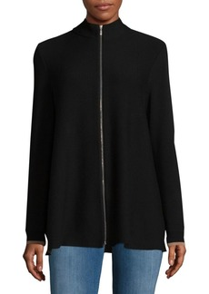 Lafayette 148 New York Contrast Knitted Top