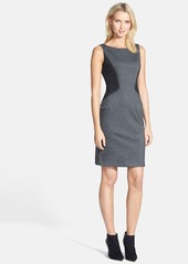 Lafayette 148 New York Contrast Side Knit Dress