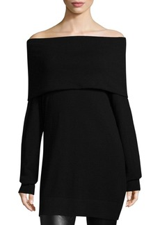 Lafayette 148 Convertible Off-The-Shoulder Sweater