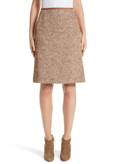 Lafayette 148 New York Coralyn Harvest Herringbone Skirt