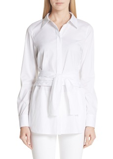 Lafayette 148 New York Cordelia Stretch Blouse