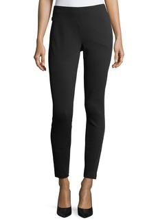Lafayette 148 New York Cortland Stretch-Knit Skinny Ankle Pants