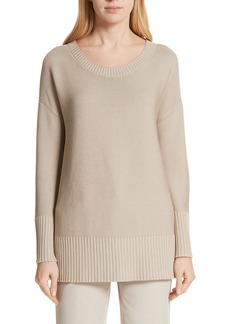 Lafayette 148 New York Cotton & Silk Sweater