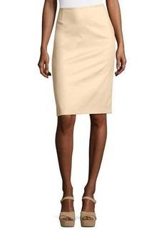 Lafayette 148 New York Cotton-Blend Pencil Skirt