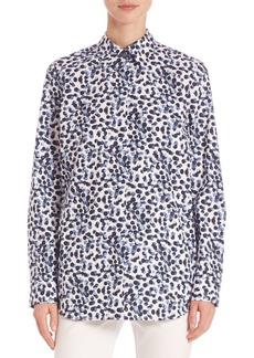 Lafayette 148 Crisp Dotted Shirt