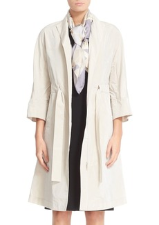 Lafayette 148 New York Cristalyn Triboro Tech Cloth Trench