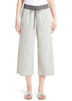 Lafayette 148 New York Crop Wide Leg Pants