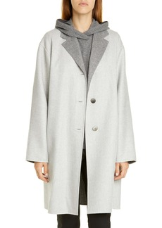 Lafayette 148 New York Cullen Reversible Wool & Cashmere Coat