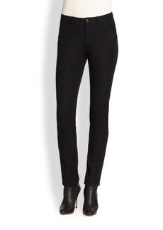 Lafayette 148 New York Curvy Slim-Leg Jodhpur Cloth Pants