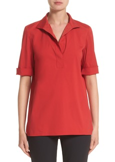 Lafayette 148 New York Daley High/Low Blouse