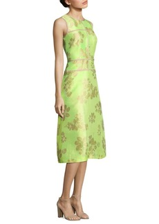 Lafayette 148 New York Damaris Floral Jacquard Dress