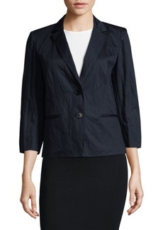 Lafayette 148 Daniella Three-Quarter Jacket