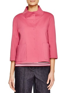 Lafayette 148 New York Darian Three Quarter Sleeve Jacket