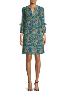 Lafayette 148 Deandra Printed Shift Dress