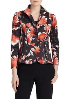 Lafayette 148 New York 'Debbie' Floral Print Jacket