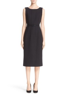 Lafayette 148 New York Debra Luxe Italian Double Face Dress