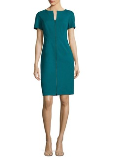Lafayette 148 New York Deja Zip-Front Dress