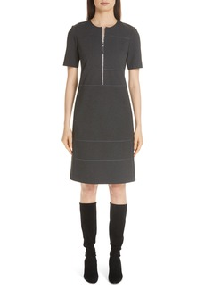 Lafayette 148 New York Demi Zip Front Dress