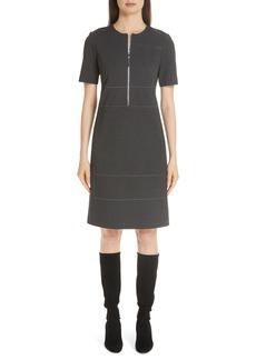 Lafayette 148 New York Demi Zip Front Dress