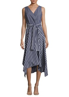 Lafayette 148 Demitria Striped Dress