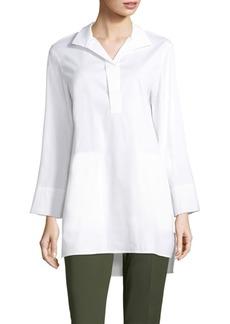 Lafayette 148 New York Desirae Cotton Shirt