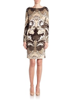 Lafayette 148 New York Dev Paisley-Print Shift Dress