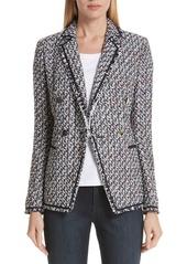 Lafayette 148 New York Devin Tweed Jacket