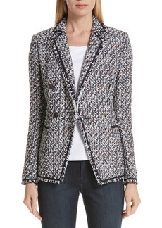 Lafayette 148 New York Devin Tweed Jacket