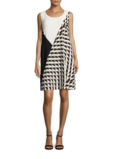 Lafayette 148 New York Diega Colorblock Shift Dress