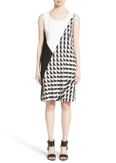 Lafayette 148 New York Diega Print Shift Dress