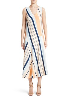 Lafayette 148 New York Divinity Stripe Midi Dress