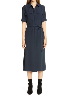 Lafayette 148 New York Doha Midi Shirtdress