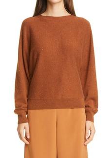 Lafayette 148 New York Dolman Sleeve Sequin Sweater