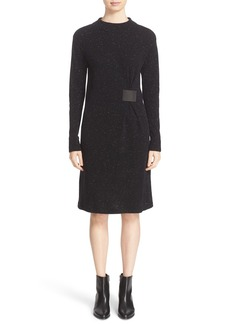 Lafayette 148 New York Donegal Wool Sweater Dress with Side Tab(Nordstrom Exclusive)