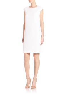 Lafayette 148 New York Dottie Sleeveless Jacquard Dress