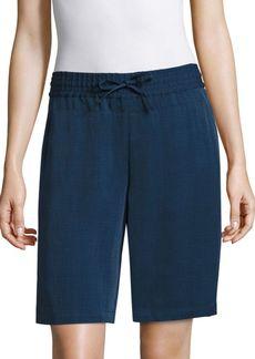 Lafayette 148 New York Drawstring Shorts