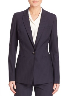 Lafayette 148 New York Duval Cloth Harvey Jacket