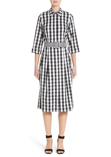 Lafayette 148 New York Eleni Gingham Shirtdress