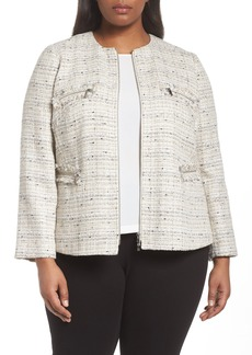 Lafayette 148 New York Emelyn Jacket (Plus Size)