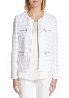 Lafayette 148 New York Emelyn Jacquard Jacket