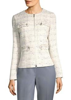 Lafayette 148 Emelyn Tweed Jacket