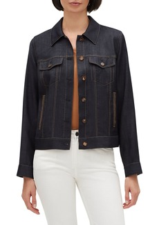 Lafayette 148 New York Emily Button-Front Wool Jacket