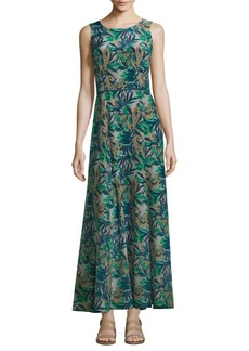 Lafayette 148 New York Estrella Cotton & Silk Maxi Dress