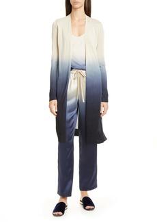 Lafayette 148 New York Eva Dip Dye Silk Camisole
