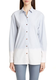 Lafayette 148 New York Everson Stripe Shirt