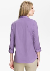 Lafayette 148 New York 'Excursion Stretch' Blouse